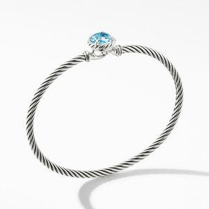 Chatelaine Bracelet with Blue Topaz