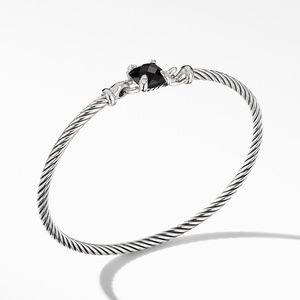 Chatelaine® Bracelet with Black Onyx and Diamonds