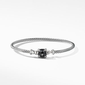 Chatelaine® Bracelet with Black Onyx and Diamonds alternative image