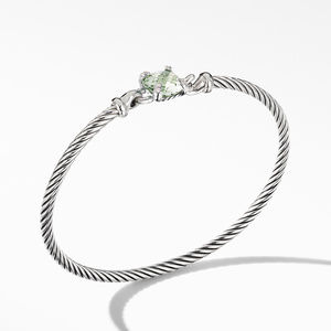 Chatelaine® Bracelet with Prasiolite and Diamonds