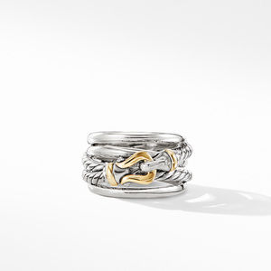 Buckle Ring with 18K Yellow Gold alternative image