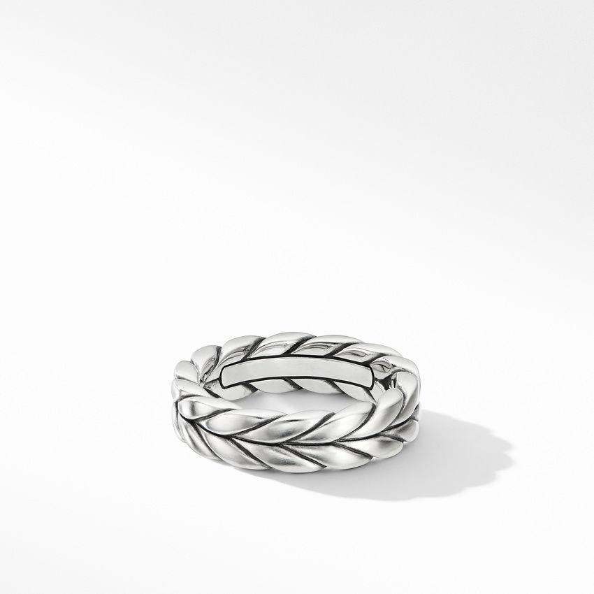 Chevron Woven Band Ring
