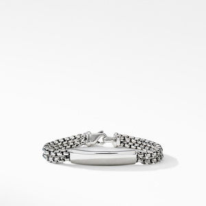 Kids Chain Id Thoroughbred Bracelet in Sterling Silver