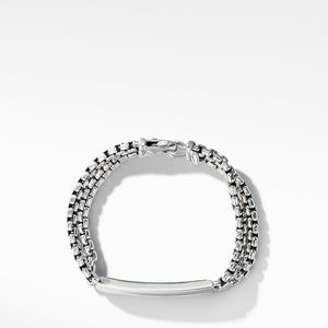 Kids Chain Id Thoroughbred Bracelet in Sterling Silver alternative image