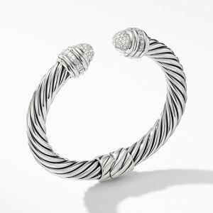 Cable Bracelet with Diamonds