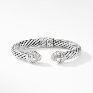 Cable Bracelet with Diamonds alternative image