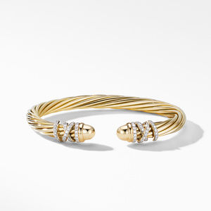 Helena End Station Bracelet in 18K Yellow Gold with Diamonds alternative image