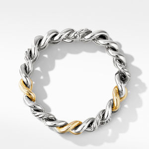 Curb Chain Bracelet with 14K Yellow Gold alternative image