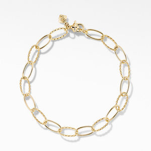 Stax Oval Link Bracelet in 18K Yellow Gold alternative image