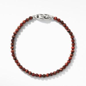 Spiritual Beads Bracelet with Red Tiger's Eye alternative image