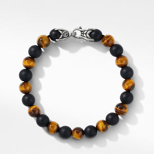 Spiritual Beads Bracelet with Tiger's Eye and Black Onyx alternative image