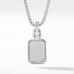 Novella Pendant with Blue Topaz, Sapphires and Pavé Diamonds alternative image