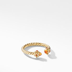 Renaissance Ring in 18K Yellow Gold with Madeira Citrine