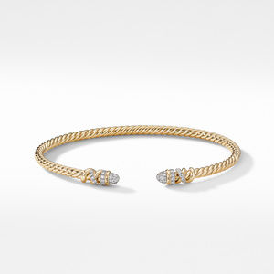 Petite Helena Bracelet in 18K Yellow Gold with Diamonds alternative image