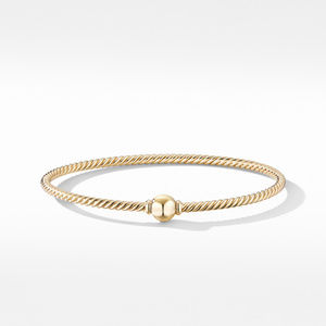 Solari Center Station Bracelet in 18K Yellow Gold with Gold Dome alternative image