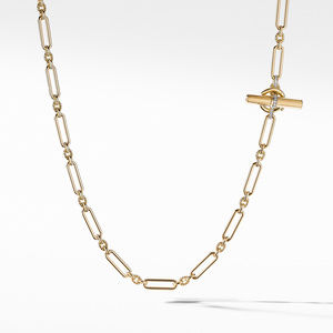 Lexington Necklace in 18K Yellow Gold with Diamonds alternative image