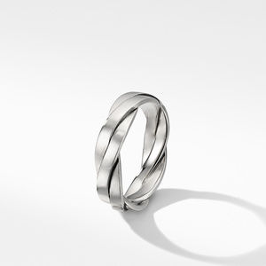 Twisted Cable Band Ring alternative image