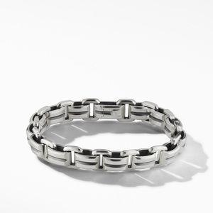 Beveled Link Bracelet
