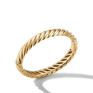 Sculpted Cable Bracelet in 18K Yellow Gold