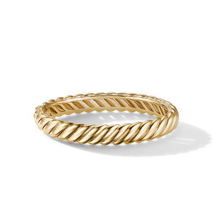 Sculpted Cable Bracelet in 18K Yellow Gold alternative image