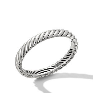 Sculpted Cable Bracelet