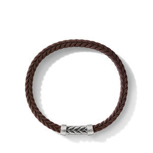 Chevron Brown Rubber Bracelet alternative image