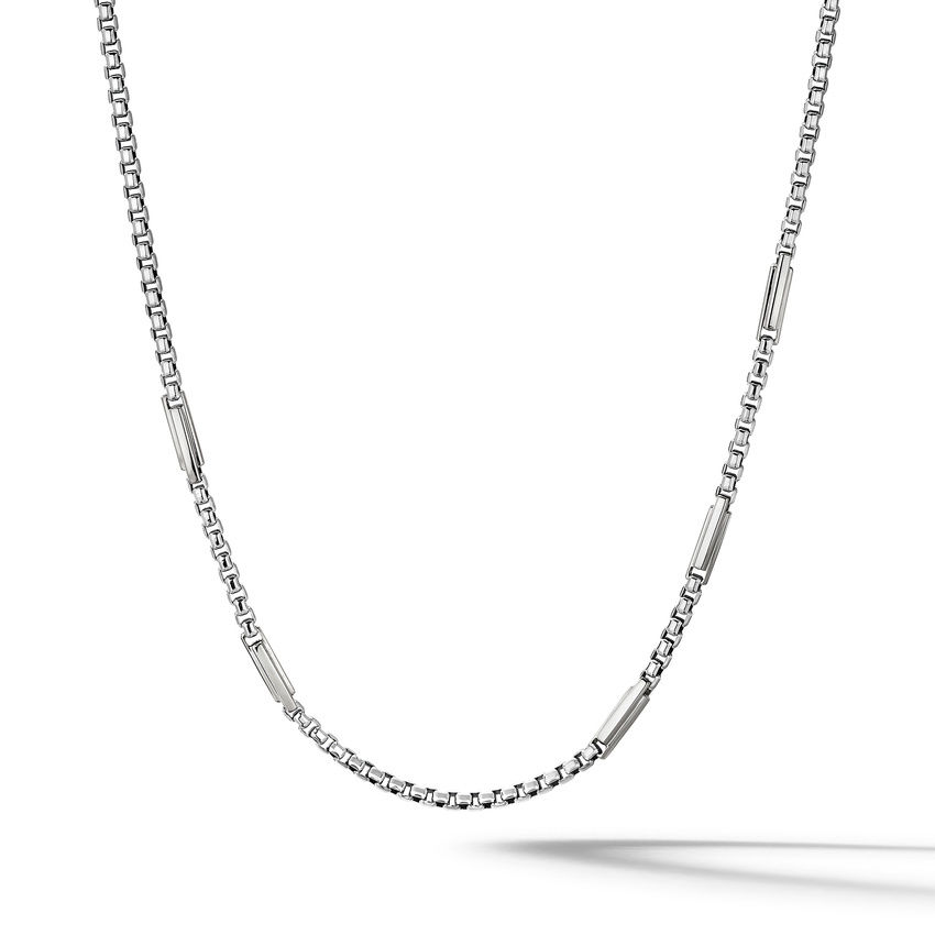 Streamline® Station Box Chain Necklace