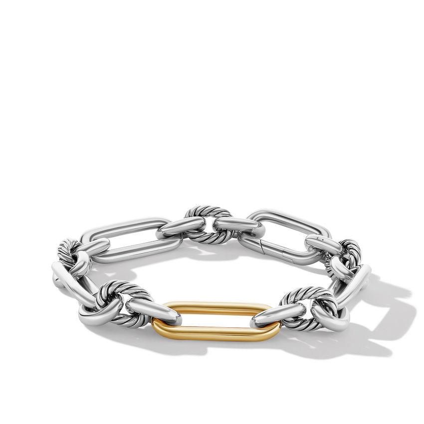Lexington Chain Bracelet with 18K Yellow Gold