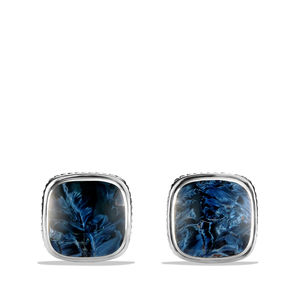 Exotic Stone Cuff Links with Pietersite alternative image