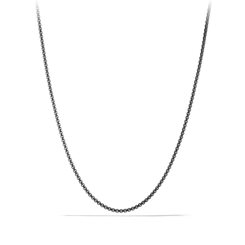 Small Box Chain Necklace
