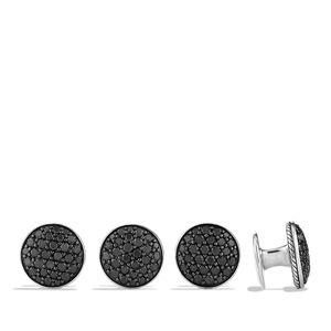Pavé Stud Set with Black Diamonds alternative image