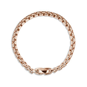 Box Chain Bracelet in Rose Gold alternative image