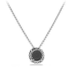 Chatelaine® Pendant Necklace with Blue Topaz alternative image