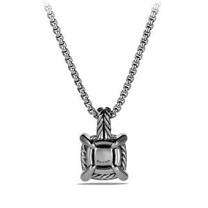 Pendant Necklace with Hampton Blue Topaz and Diamonds alternative image