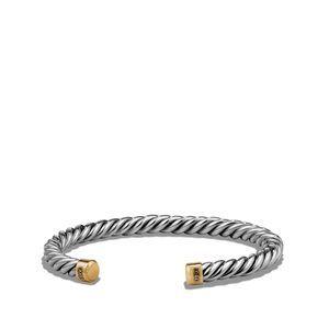 Cuff Bracelet with 18K Gold
