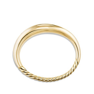 Pure Form Smooth Bracelet in 18K Gold, 9.5mm alternative image