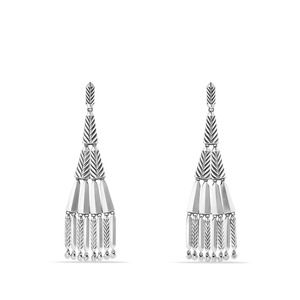 Stax Fringe Earrings with Diamonds