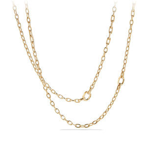 Stax Convertible Chain Necklace in 18K Gold
