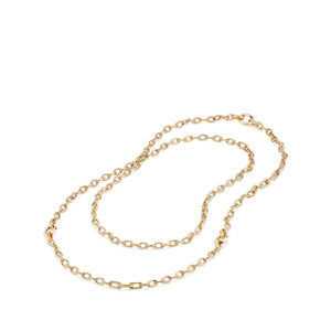 Stax Convertible Chain Necklace in 18K Gold alternative image