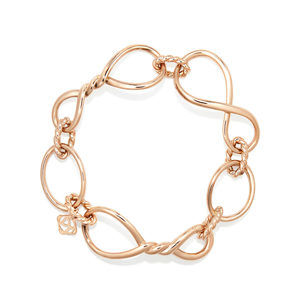 Continuance Chain Bracelet in 18K Rose Gold alternative image