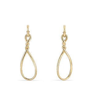 Continuance Large Drop Earrings in 18K Gold