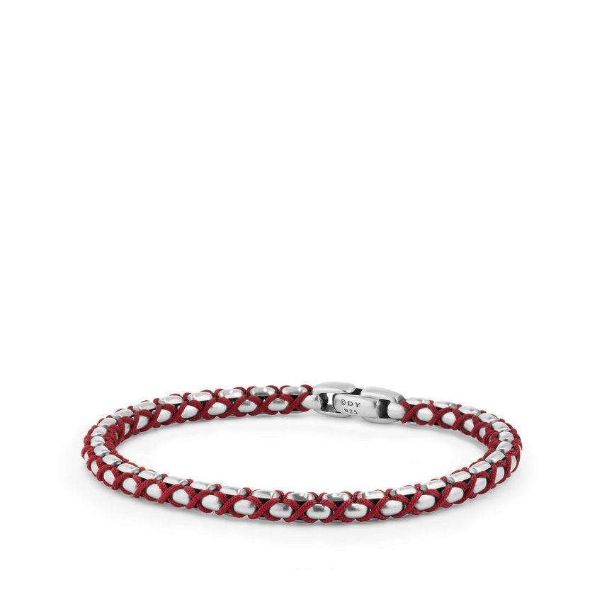 Woven Box Chain Bracelet, 4.8mm