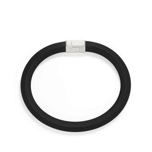 Hex Bracelet in Black, 10.5mm alternative image