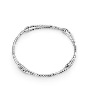 Continuance® Bracelet with Diamonds in 18K White Gold alternative image